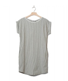 Wemoto Wemoto W Dress New Kano Stripe beige sand melange black