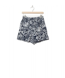 Wemoto Wemoto W Shorts Hyder Printed blue navy-off white