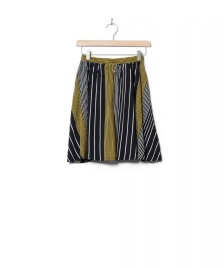 Wemoto Wemoto W Skirt Rations Printed black-yellow