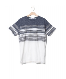 Revolution (RVLT) Revolution T-Shirt 1174 Stripe white navy