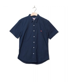Levis Levis Shirt S/S Battery Hm Slim blue dress blues x