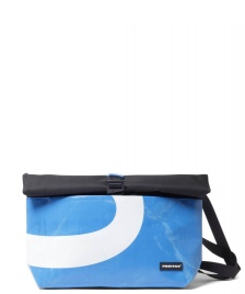 Freitag Freitag ToP Bag Rollin blue/white