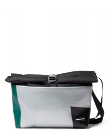 Freitag Freitag ToP Bag Rollin silver/green/black