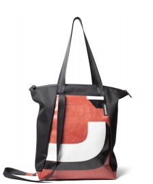 Freitag Freitag ToP Tote Bag Davian black/red/white/black