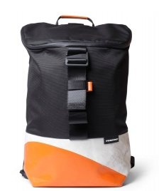 Freitag Freitag ToP Backpack Carter black/white/orange