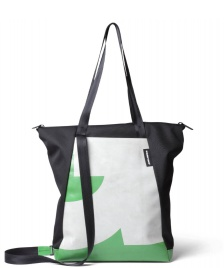 Freitag Freitag ToP Tote Bag Davian black/white/green