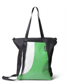 Freitag Freitag ToP Tote Bag Davian black/green/white