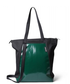 Freitag Freitag ToP Tote Bag Davian black/green dark