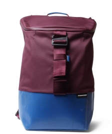 Freitag Freitag ToP Backpack Carter red marsale/blue