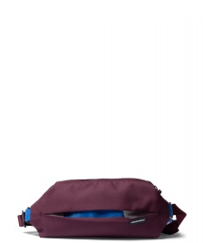 Freitag Freitag ToP Hip Bag Phelps red marsala/blue/white