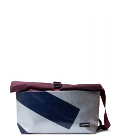 Freitag Freitag ToP Bag Rollin red marsala/silver/blue