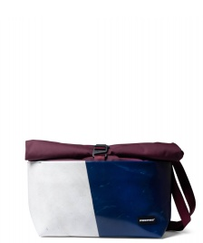 Freitag Freitag ToP Bag Rollin red marsala/blue/white