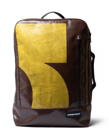 Freitag Freitag Backpack Hazzard brown/yellow