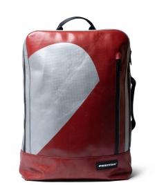 Freitag Freitag Backpack Hazzard silver/red