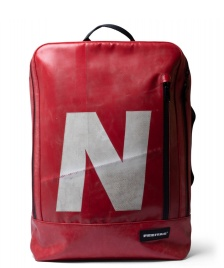 Freitag Freitag Backpack Hazzard red/white