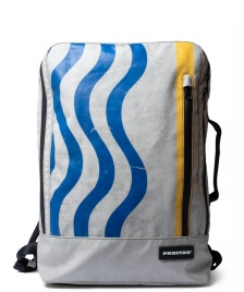 Freitag Freitag Backpack Hazzard grey/blue/yellow