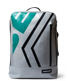 Freitag Freitag Backpack Hazzard silver/green/black