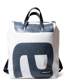 Freitag Freitag Backpack Pete white/grey