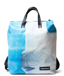 Freitag Freitag Backpack Pete blue/white