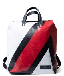 Freitag Freitag Backpack Pete red/white/black