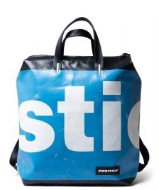 Freitag Freitag Backpack Pete black/blue/white