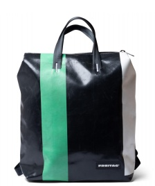 Freitag Freitag Backpack Pete black/white/green