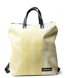 Freitag Freitag Backpack Pete yellow/white