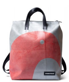 Freitag Freitag Backpack Pete red/silver