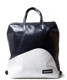 Freitag Freitag Backpack Pete white/black
