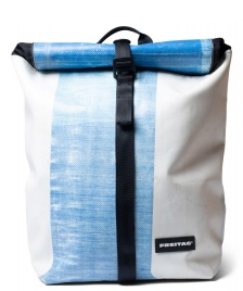 Freitag Freitag Backpack Clapton white/blue