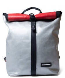 Freitag Freitag Backpack Clapton silver/red