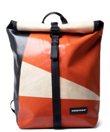 Freitag Freitag Backpack Clapton orange/beige/black