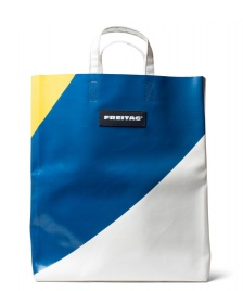 Freitag Freitag Bag Miami Vice white/blue/yellow
