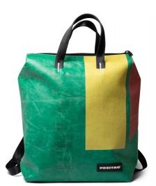 Freitag Freitag Backpack Pete green/yellow/red