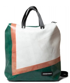 Freitag Freitag Backpack Pete green/white/red