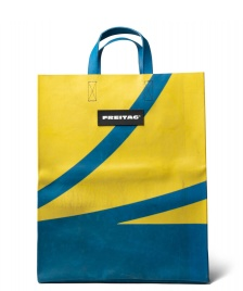 Freitag Freitag Bag Miami blue/yellow