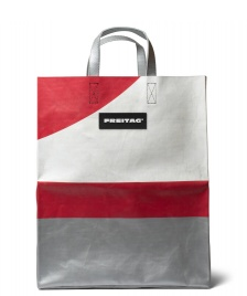 Freitag Freitag Bag Miami silver/white/red