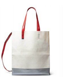 Freitag Freitag Bag Julien silver/white/red