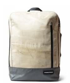 Freitag Freitag Backpack Hazzard beige/grey