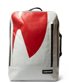 Freitag Freitag Backpack Hazzard grey/red