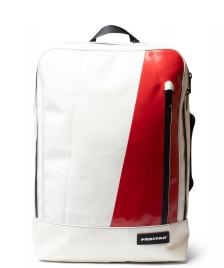 Freitag Freitag Backpack Hazzard white/red