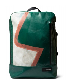 Freitag Freitag Backpack Hazzard green/white/red
