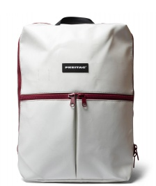 Freitag Freitag Backpack Fringe white/red