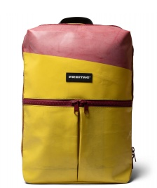 Freitag Freitag Backpack Fringe yellow/red