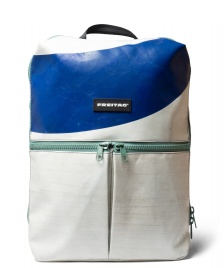 Freitag Freitag Backpack Fringe white/blue/green