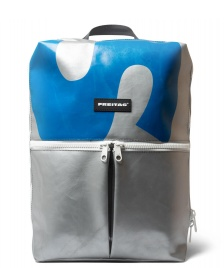 Freitag Freitag Backpack Fringe silver/blue/white