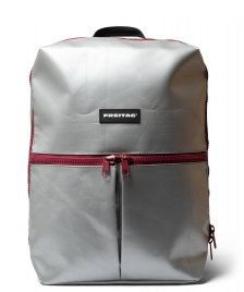 Freitag Freitag Backpack Fringe silver/red