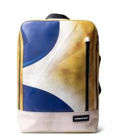 Freitag Freitag Backpack Hazzard yellow/blue/white