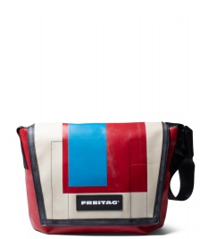 Freitag Freitag Bag Lassie red/beige/blue