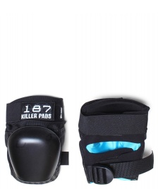187 Killer 187 Killer Protection Derby Pads Pro black/black